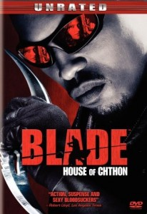 Blade House of Chthon DVD Cover