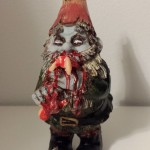 Gnomes protect your flowers...by eating the babies that crawl by! Another gory custom from Curious Goods.