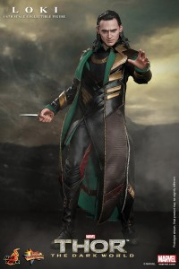 Loki Thor Dark World Hot Toys