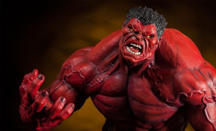 Sideshow's Premium Format Red Hulk Statue
