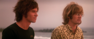 I mostly knew co-star Kyle MacLachlan from Twin Peaks when I first saw The Doors.  His character of Ray Manzarek, Doors' keyboardist, is lost in this film; despite the title this movie is all about Morrison.