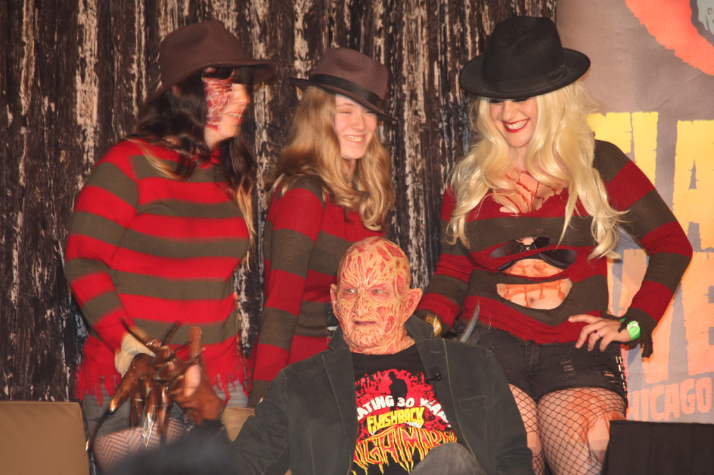 Freddy and his Girls on Stage - Header Photo