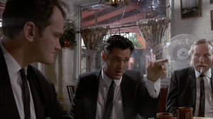 Tarantino pulled off the minor role of Mr. Brown, but he was not as fortunate in future acting gigs.