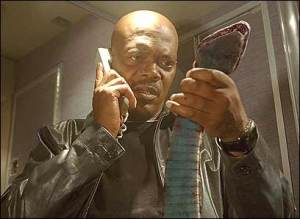 I like to imagine this is Jackson calling his agent wondering how he got on this Plane.