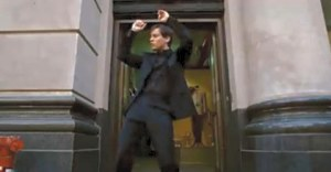 I'd seen the black outfit take Peter Parker to dark places in the comic...but never as dark as Maguire's uncomfortable dance scene.