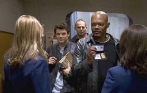I'm not sure if a movie titled Snakes on a Plane needs more plot than, well, snakes on a plane.  Yet this film also gives us a crime story to explain...sort of...how the snakes, and Sam Jackson, got on that plane.