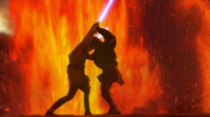 The CGI visuals in Revenge of the Sith were striking and stunning.