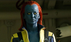 Jennifer Lawrence joins the X-franchise as Mystique.