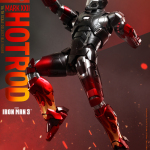Hot Toys – Iron Man 3 – Hot Rod (Mark XXII) Collectible Figure (Hot Toys Exclusive)_PR3a