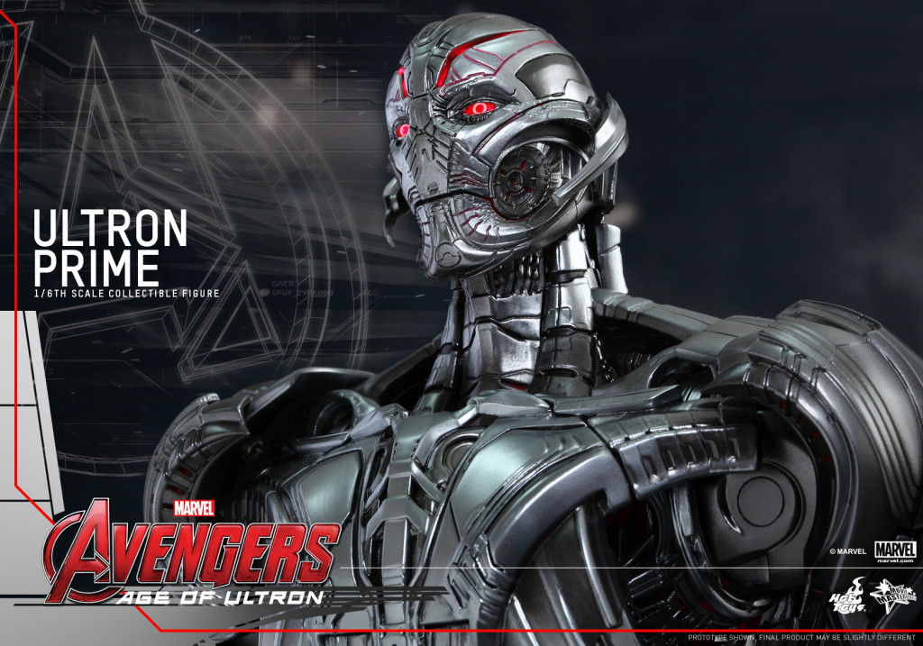 Hot Toys - Avengers - Age of Ultron - Ultron Prime Collectible Figure_PR12