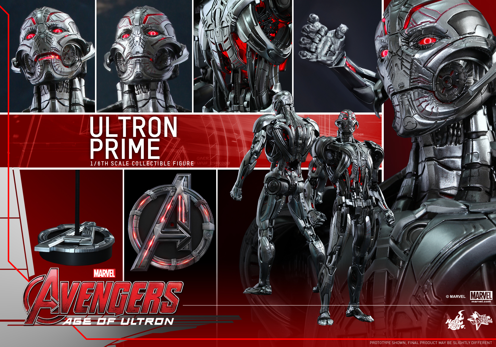 Hot Toys – Avengers – Age of Ultron – Ultron Prime Collectible Figure_PR13