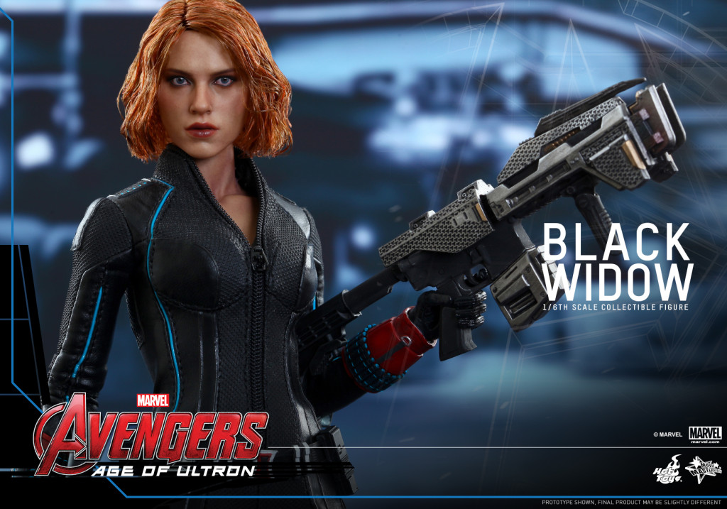 Hot Toys - Avengers - Age of Ultron - Black Widow Collectible Figure_PR8
