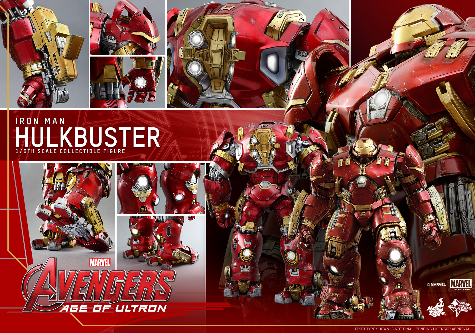 Hot Toys – Avengers – Age of Ultron – Hulkbuster Collectible Figure_PR15