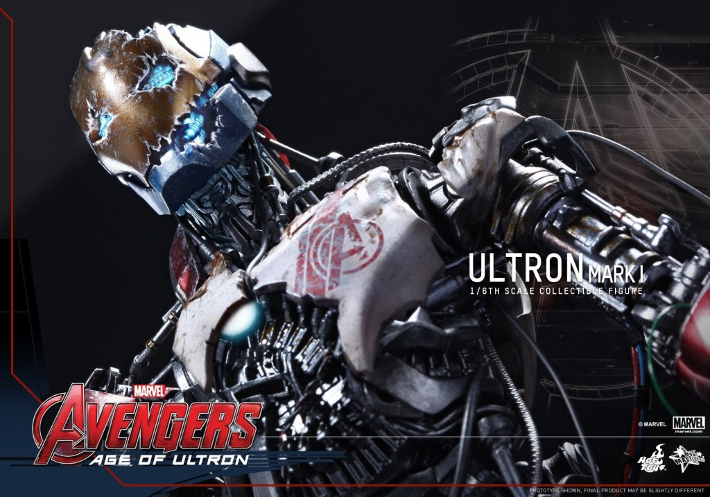 Hot Toys - Avengers - Age of Ultron - Ultron Mark I Collectible Figure_PR8