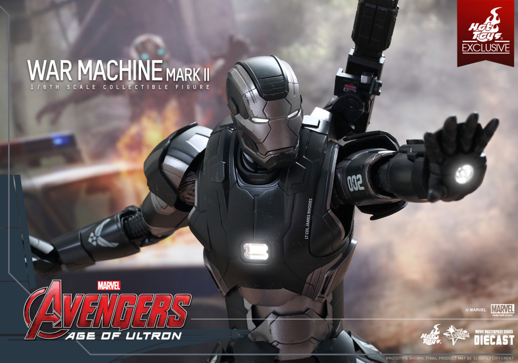 Hot Toys - Avengers Age of Ultron - War Machine Mark II Collectible Figure_PR9