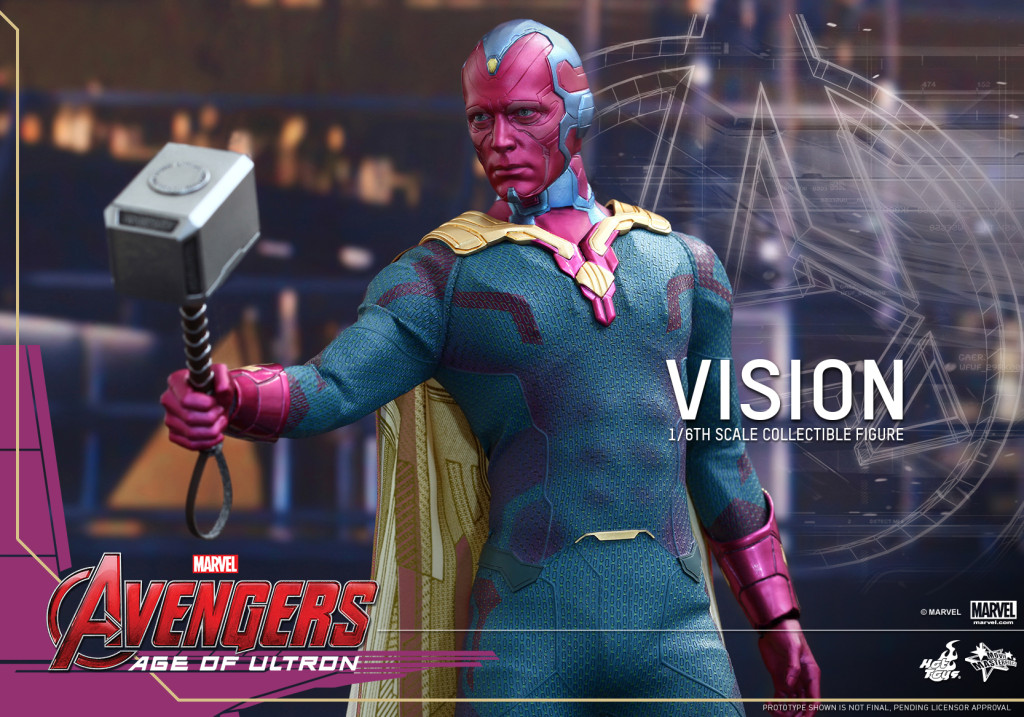 Hot-Toys - Avengers - Age of Ultron - Vision - Collectible - Figure_PR12
