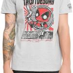 Deadpool T-shirt_Hot Topic