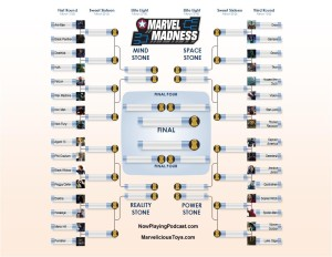 2016 Marvel Infinity Gauntlet Madness Bracket