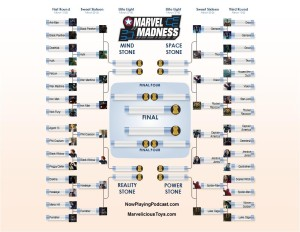 Click to see the full March Marvel Madness Bracket