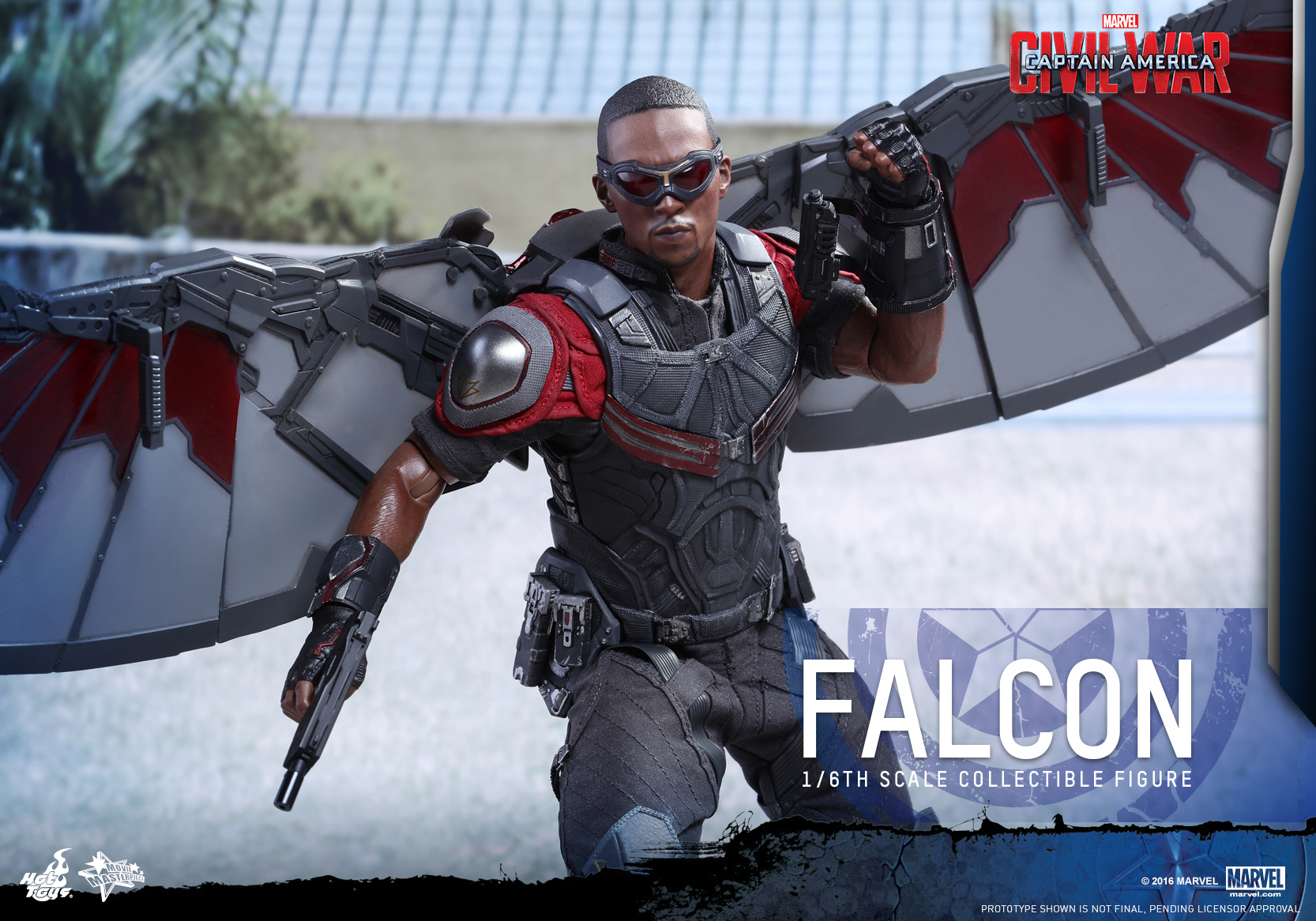 Hot Toys - Captain America Civil War - Falcon Collectible Figure_PR14