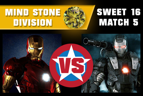 R2M5 - War Machine vs Iron Man
