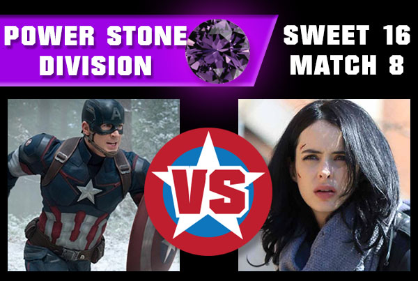R2M8 - Captain America vs Jessica Jones
