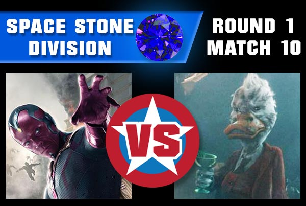 SpaceStoneR1M10 - Howard the Duck vs Vision