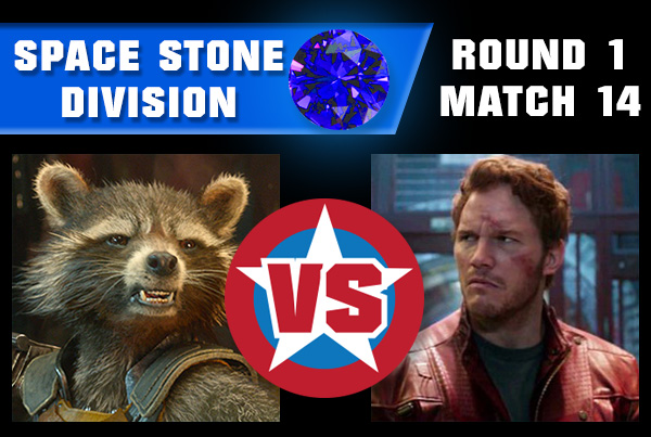 SpaceStoneR1M14 - Rocket Raccoon vs Star-Lord
