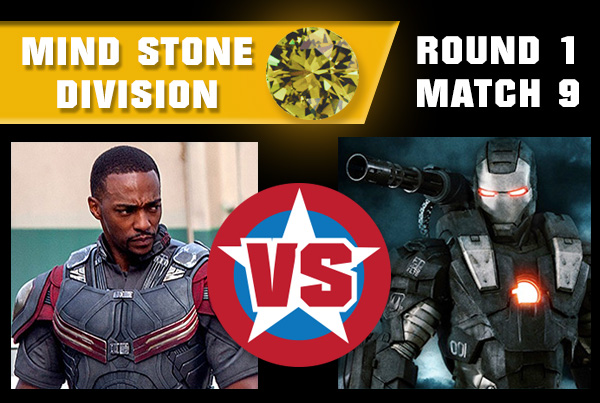SpaceStoneR1M9 - War Machine vs Falcon