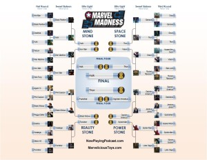 2016 Marvel Infinity Gauntlet Madness Bracket - Finals
