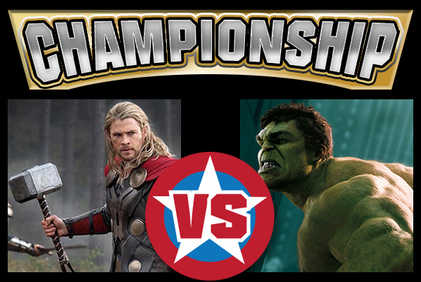 MATCH-UP Finals - Thor vs Hulk