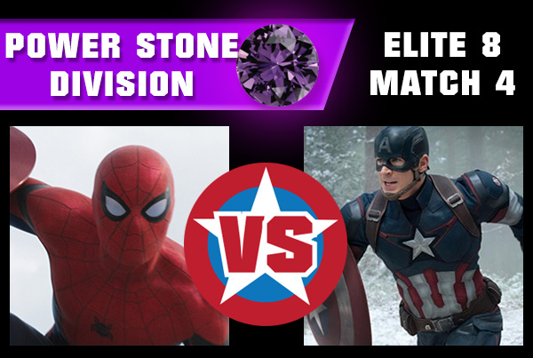 R3M4 - Captain America vs Spider-Man
