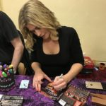 "Kristy Swanson signs ""Deadly Friend"" DVD for Now Playing Podcast host Arnie Carvalho."