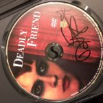 """Deadly Friend"" disc signed by actress Kristy Swanson"