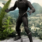 2018 Toy Fair Mezco Black Panther 01